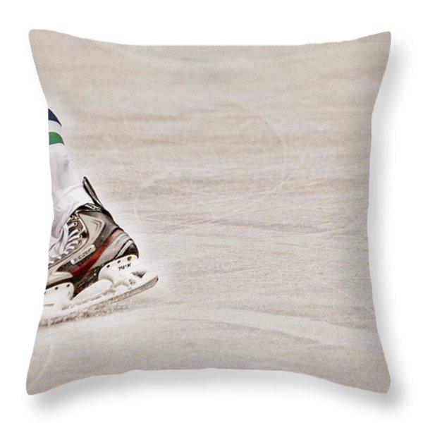 The Edge Throw Pillow by Karol  Livote