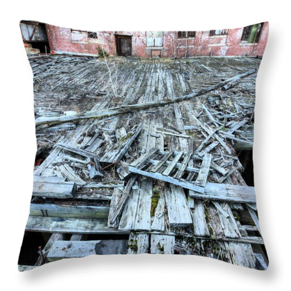 The Empty Planet Throw Pillow by JC Findley