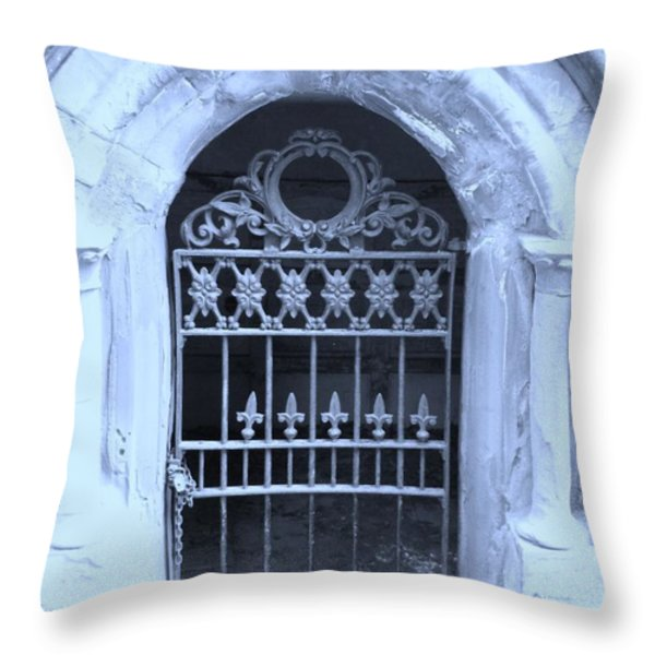 The entrace Throw Pillow by Heather L Giltner