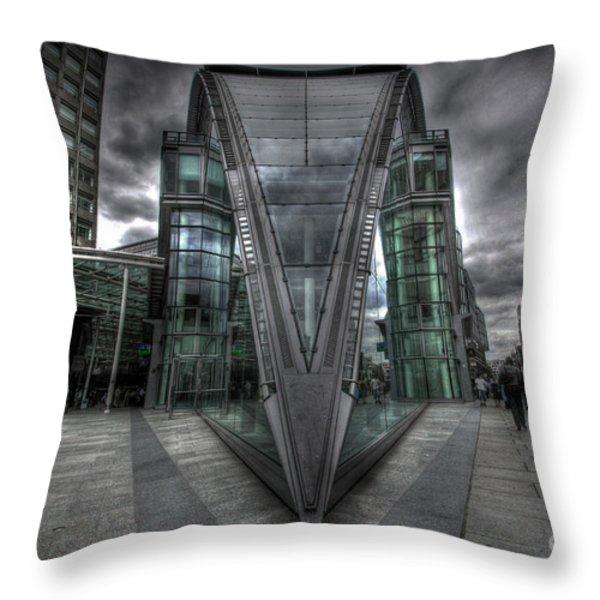 The Fang Throw Pillow by Yhun Suarez