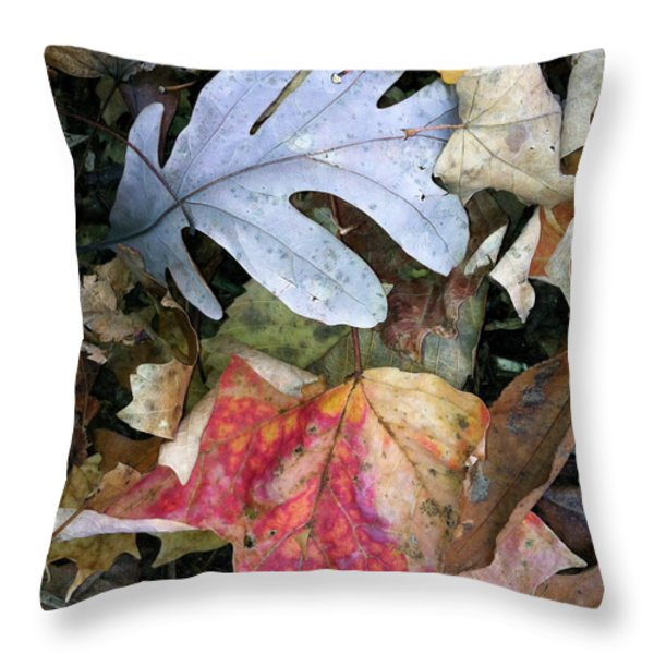 The Gathering Throw Pillow by Trish Hale