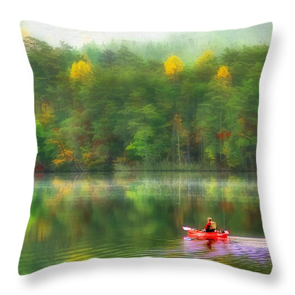 The Good Life Throw Pillow by Darren Fisher