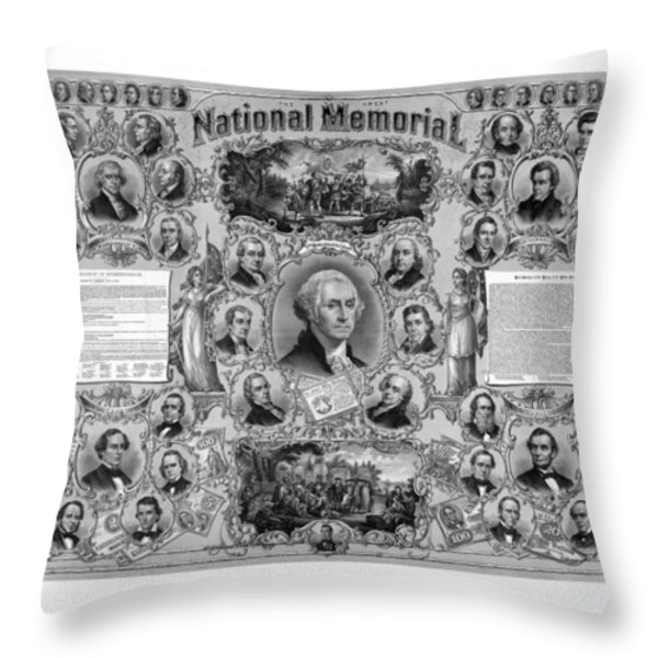 The Great National Memorial Throw Pillow by War Is Hell Store