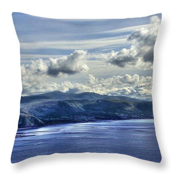 The Great Orme Throw Pillow by Svetlana Sewell