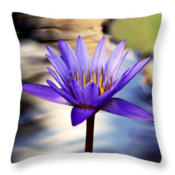 The Greatest Gift Throw Pillow by Melanie Moraga