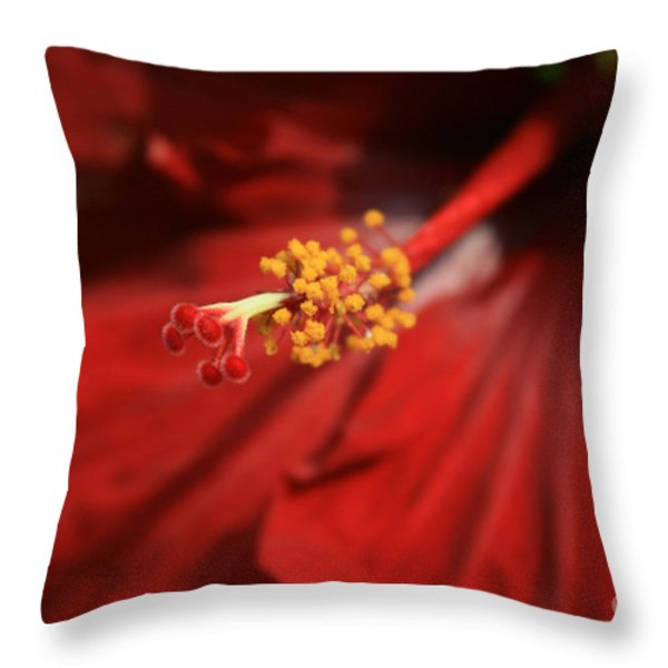 The Intoxication Of Love Throw Pillow by Sharon Mau