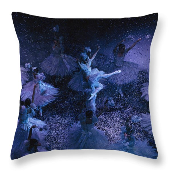 The Joffrey Ballet Dances The Throw Pillow by Sisse Brimberg