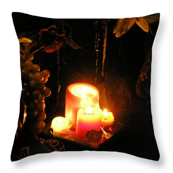 The Joy of Light Throw Pillow by Anthony Wilkening