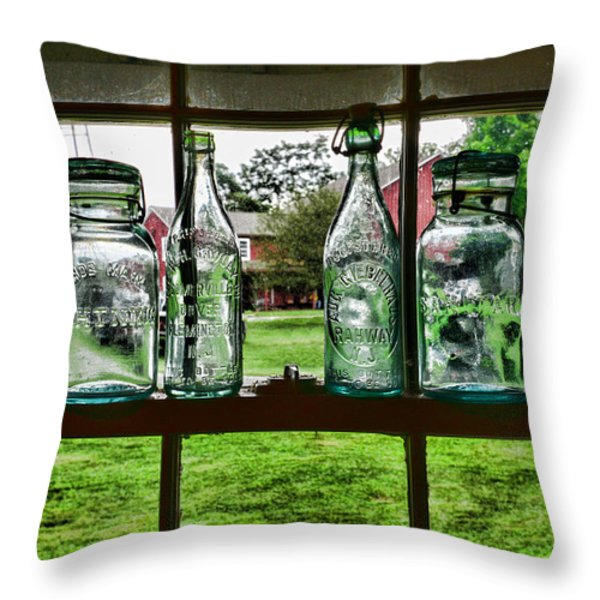 The kitchen window Throw Pillow by Paul Ward