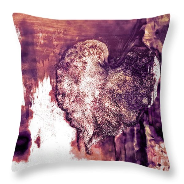 The Light Within Throw Pillow by Linda Sannuti