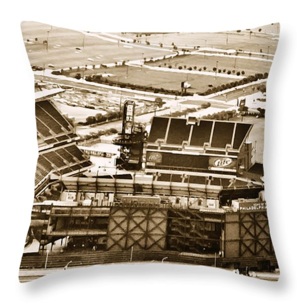 The Linc - Aerial View Throw Pillow by Bill Cannon