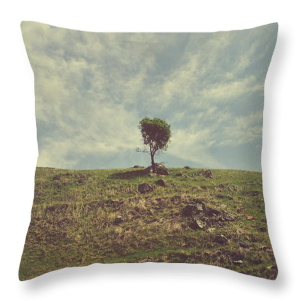 The Little Bit Of My Heart That's Left Throw Pillow by Laurie Search