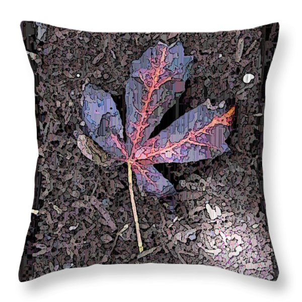 The Maple 5 Throw Pillow by Tim Allen