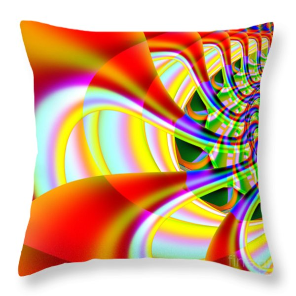 The Marching Band . Square . S14 Throw Pillow by Wingsdomain Art and Photography