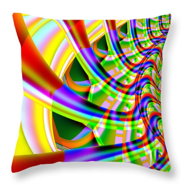 The Marching Band . Vertical . S14 Throw Pillow by Wingsdomain Art and Photography