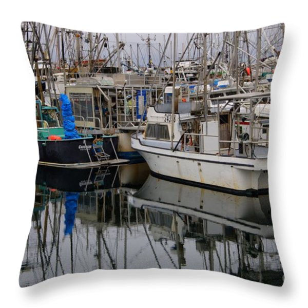 The Maze Throw Pillow by Bob Christopher