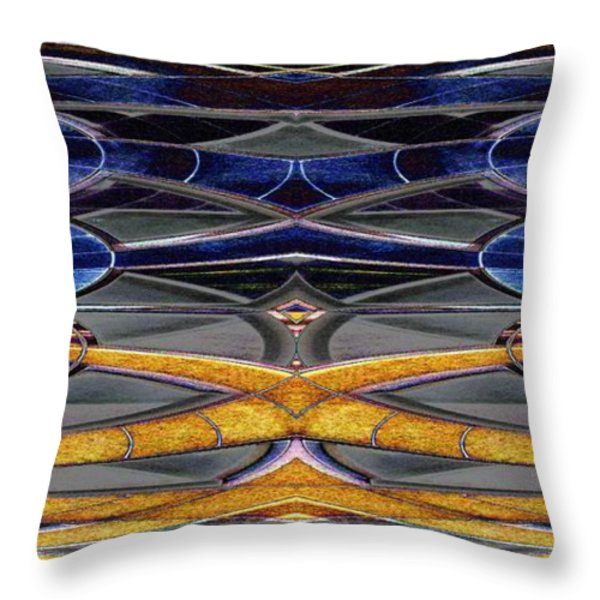 The Oricle Throw Pillow by Tim Allen
