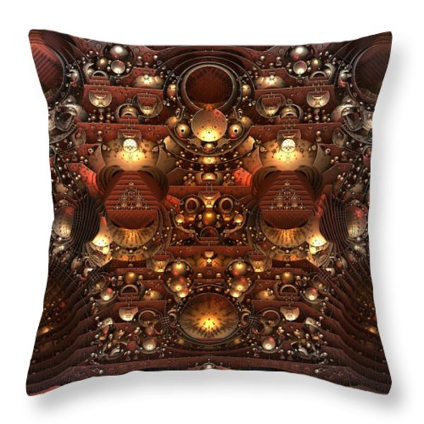 The Power And The Glory Throw Pillow by Lyle Hatch