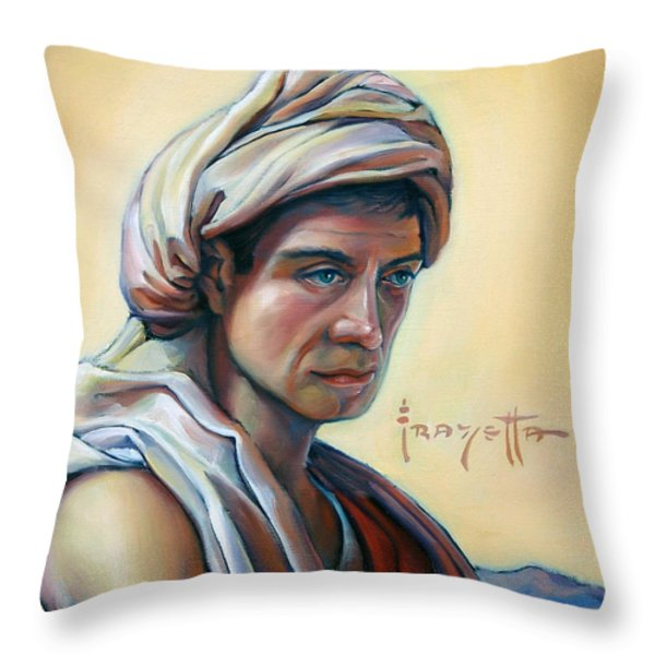 The Prophet Throw Pillow by Patrick Anthony Pierson