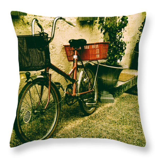 The Quiet Life Throw Pillow by Nomad Art And  Design