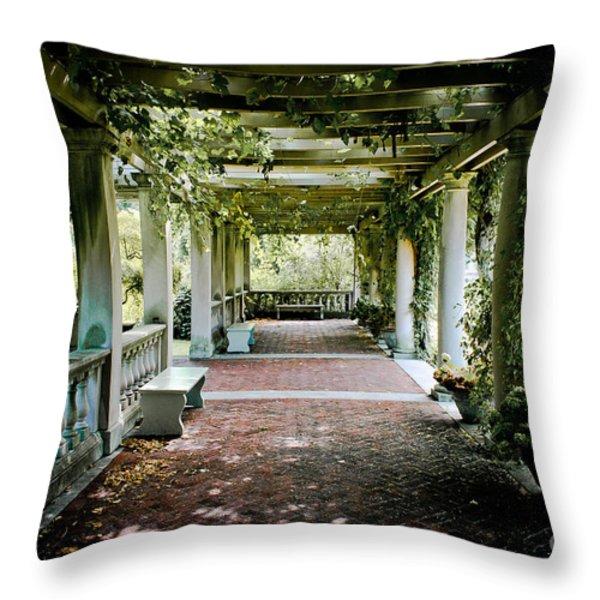 The Resting Spot Throw Pillow by Ken Marsh