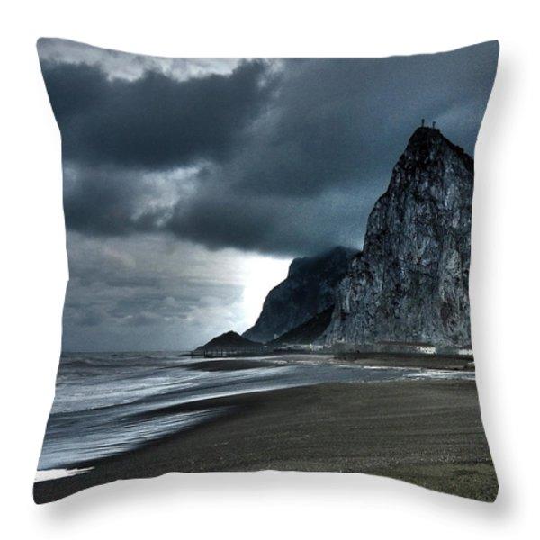 The Rock ... Throw Pillow by Juergen Weiss