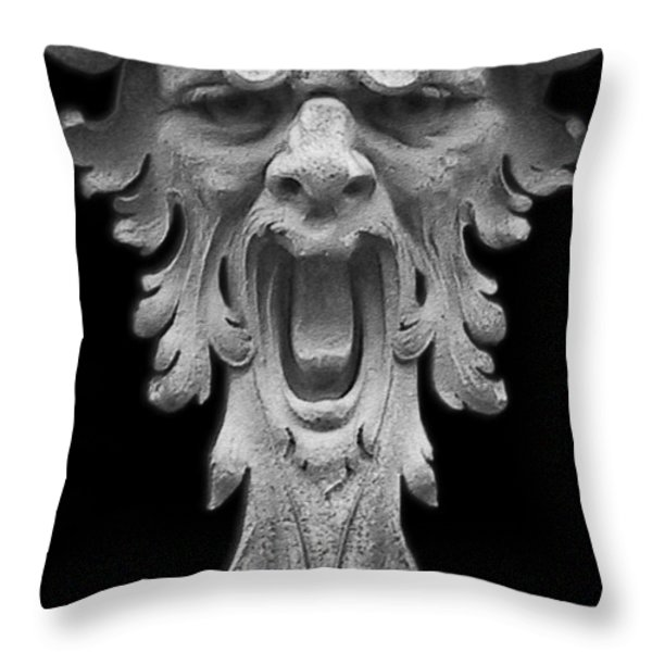 The Scream Throw Pillow by Christine Till