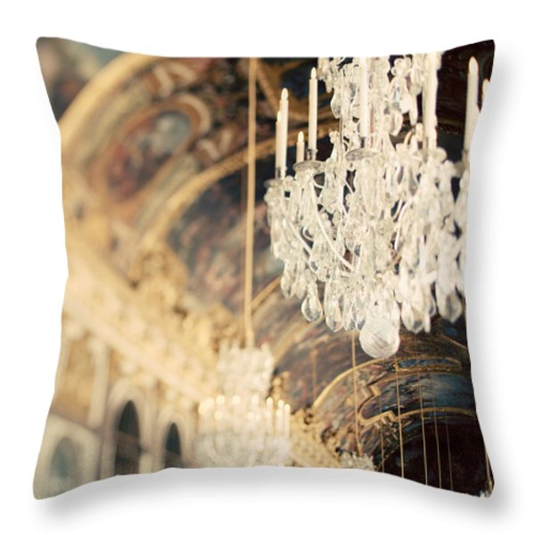 The Secret History Throw Pillow by Irene Suchocki