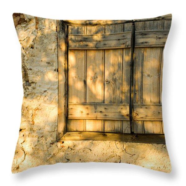 the simple life Throw Pillow by Meirion Matthias
