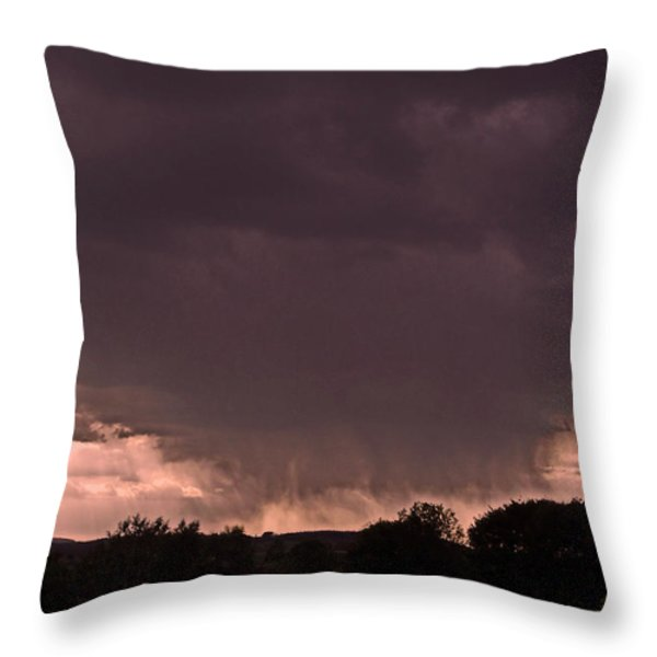 The Storm is Coming ... Throw Pillow by Juergen Weiss