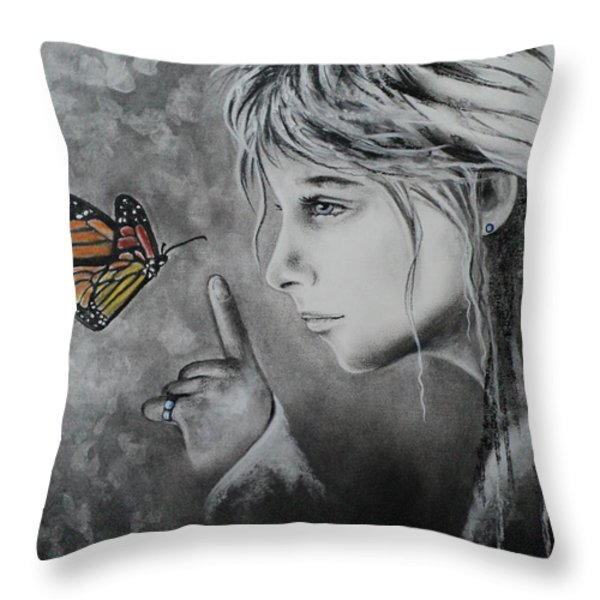 The Story of Me Throw Pillow by Carla Carson