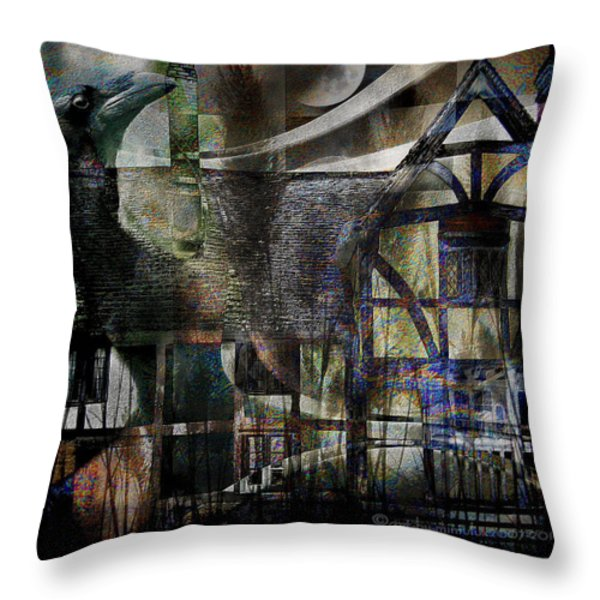 The Summoner Throw Pillow by Mimulux patricia no