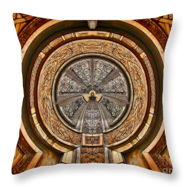 The Turbine - Archifou 63 Throw Pillow by Aimelle