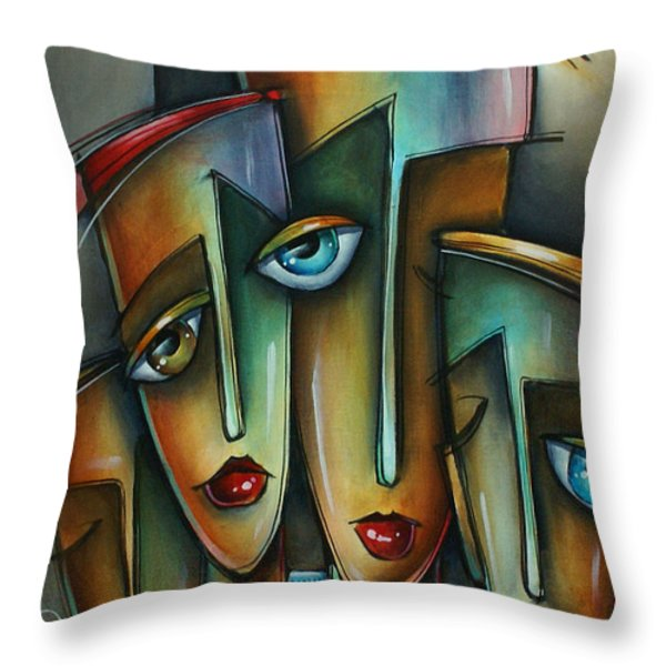 The Union Throw Pillow by Michael Lang