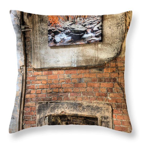 The Value Of Art Throw Pillow by JC Findley