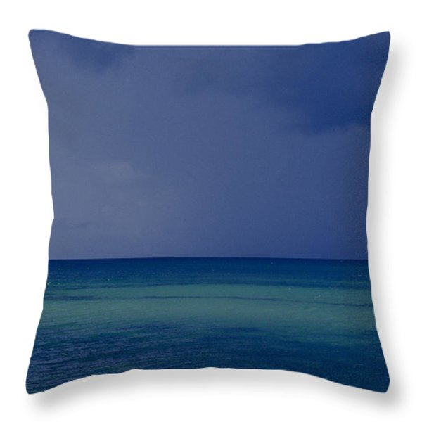 The Weather Is Changing Throw Pillow by Heiko Koehrer-Wagner