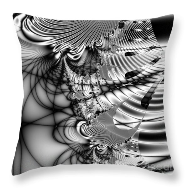 The Web We Weave . Square Throw Pillow by Wingsdomain Art and Photography