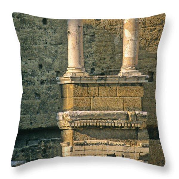 Theatre d'Orange. Provence. Throw Pillow by BERNARD JAUBERT
