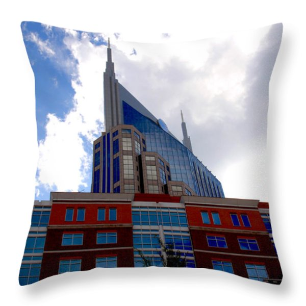 There where modern and old architecture meet Throw Pillow by Susanne Van Hulst