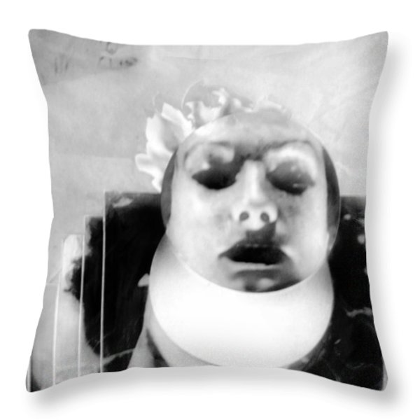 Think Of Things To Come Throw Pillow by Rory Sagner