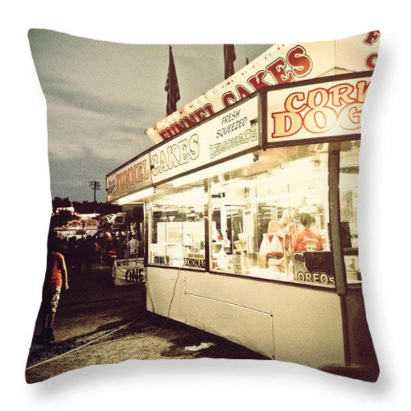 Those Were The Days Throw Pillow by Jessica Brawley