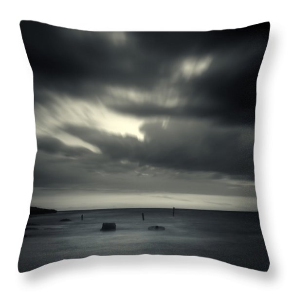 Time Throw Pillow by Stylianos Kleanthous