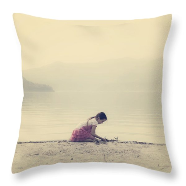 time to be Throw Pillow by Joana Kruse