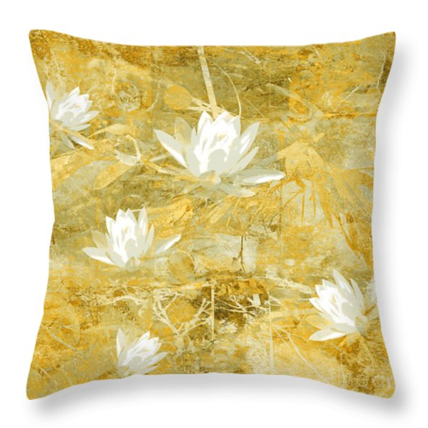 Timeless Beauty Photo Collage Throw Pillow by Ann Powell