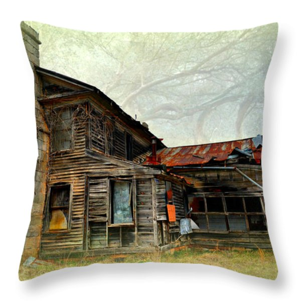 Times Long Gone Throw Pillow by Marty Koch