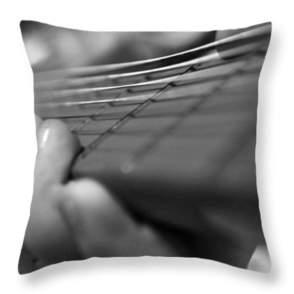 Tiny Hands  Throw Pillow by Susan Bordelon