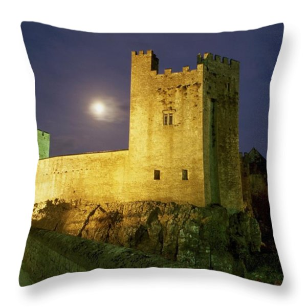 Tipperary, General Throw Pillow by Richard Cummins