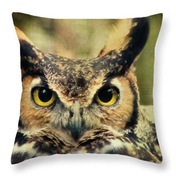Tootsie Throw Pillow by Trish Tritz