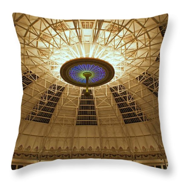 Top of the Dome Throw Pillow by Sandy Keeton