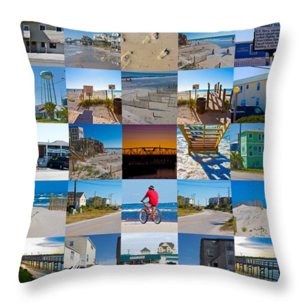 Topsail Visual Contemporary Quilt Series II Throw Pillow by Betsy A  Cutler